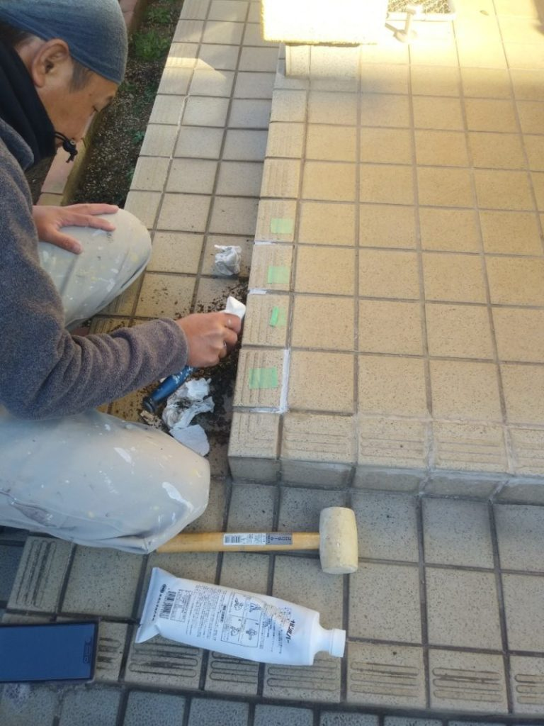 船橋市 キッチン工事とフェンス取付_210119 (5)