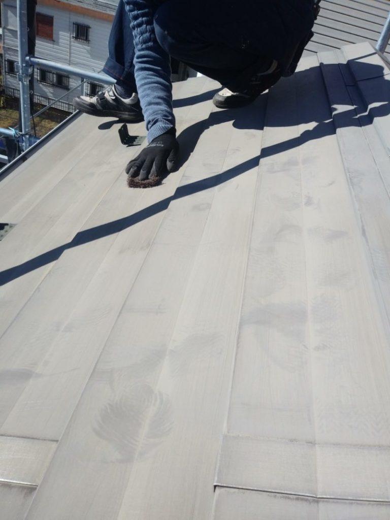 葛飾区 屋根塗装_210306 (4)