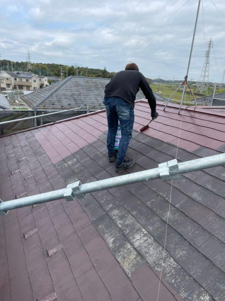 千葉県柏市の屋根塗装