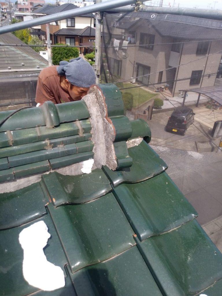 熊谷市 漆喰工事_210529 (1)